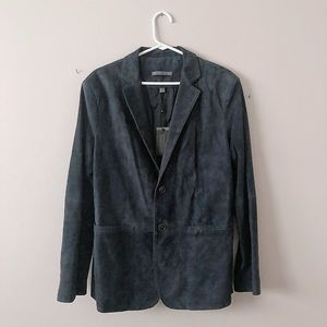 JOHN VARVATOS SUEDE BLAZER/SPORTS COAT